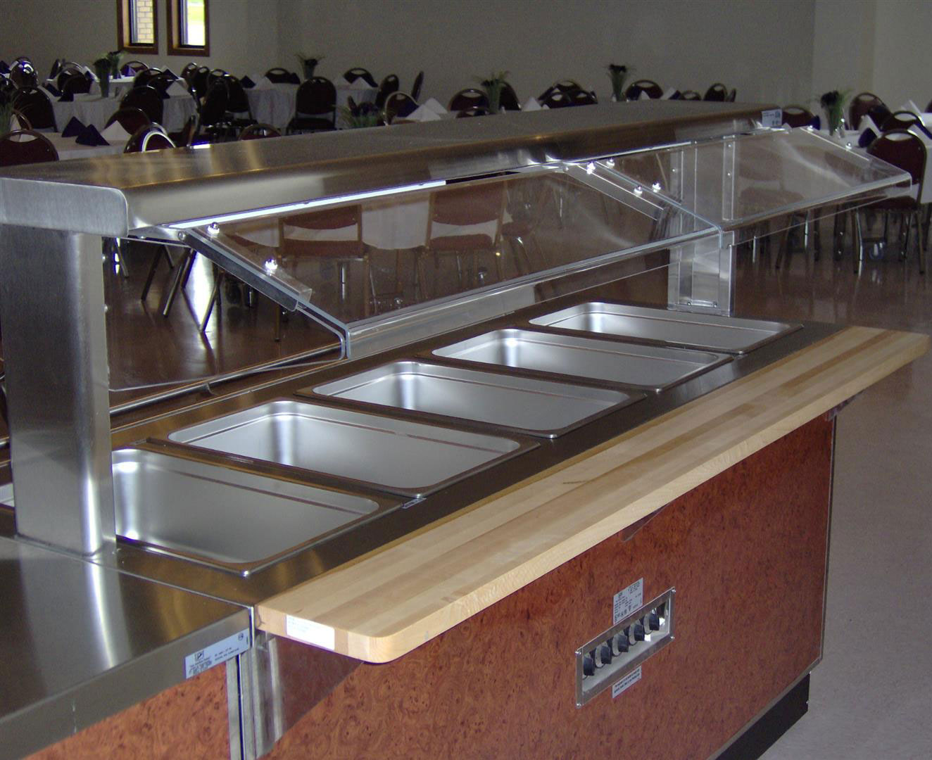 buffet equipment sold by Tillman's Restaurant Equipment & Supplies